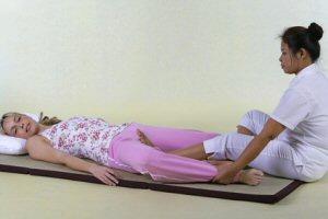 Thai-Massage: Technik der Thaimassage